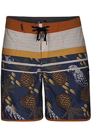 Hurley Men's M Phantom Back Bay 18' Shorts