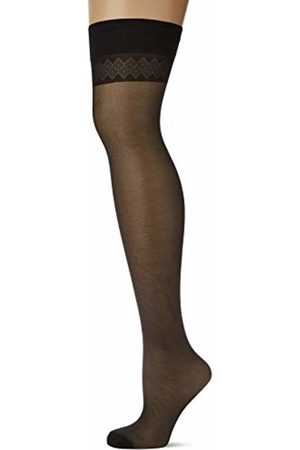 Levante Women's Vanessa 20 Calza 100% Made In Italy Hold-Up Stockings, 40 A)