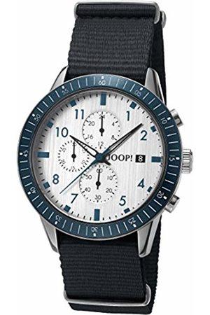 JOOP! Men Watches - Men's Chronograph Quartz Watch with Nylon Strap JP101881004
