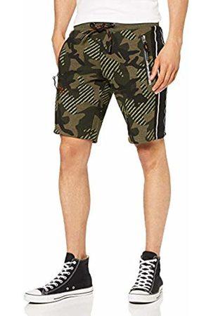 Superdry Men's Orange Label Urban Short (Khaki Camo Eff)