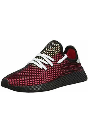 adidas Men's Deerupt Runner Gymnastics Shoes, Shock /Real Lilac/Core