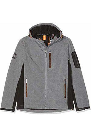 Superdry Men's Hooded Paralex Windtrekker Jacket, Marl Q