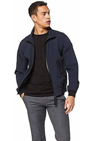 HUGO BOSS Casual Men's Ozton Jacket, (Dark 404)
