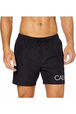 Calvin Klein Men's Medium Drawstring-Side Swim Trunks