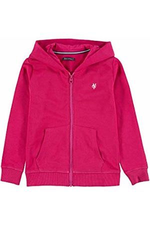 Marc O' Polo Girl's Sweatjacke 1/1 Arm Sweat Jacket, (Azalea 