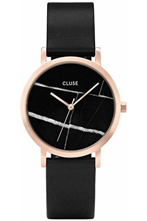 Cluse Womens Analogue Quartz Watch with Leather Strap CL40104