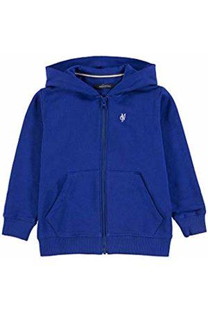 Marc O' Polo Boy's Sweatjacke 1/1 Arm Sweat Jacket, (Sodalite