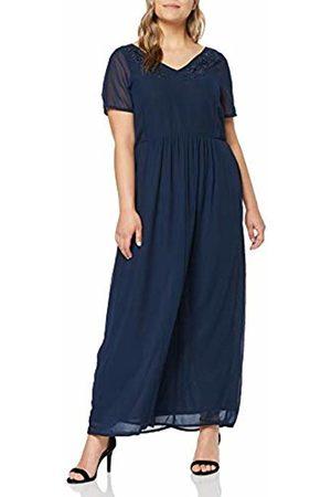 Zizzi Women's Abendkleider Party Dress, (Dark 1496)