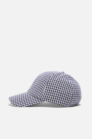 Zara Gingham cap