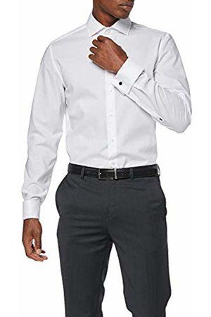 Seidensticker Men's Dress Shirt Formal Shirt Business Shirt Slim Fit Long Sleeve Collar Kent Non-Iron Envelope Cuffs