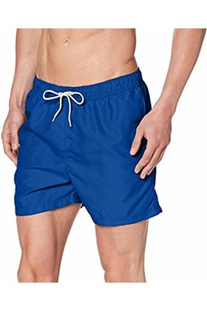 Selected Homme Men's SLHCLASSIC Colour Swimshorts W Shorts, Blau Navy Peony