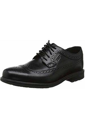 Rockport Men's Essential Details II Wing TIP Brogue, ( Leather 001)