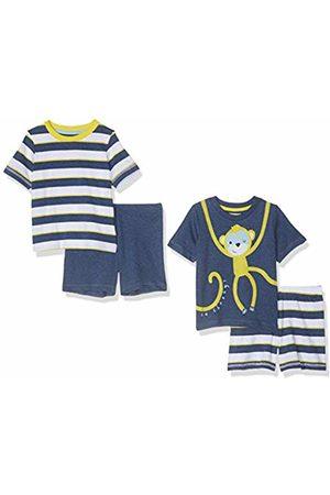 Mothercare Boy's Boys 2Pk Monkey Shortie Regular Fit Shorts