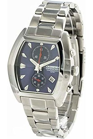 ChronoTech Mens Chronograph Quartz Watch with Stainless Steel Strap CT7257M
