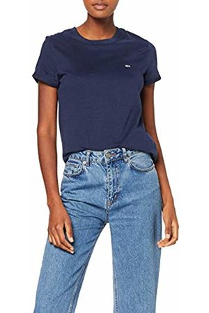Tommy Hilfiger Women's TJW Relaxed ROLL UP Sleeve TEE T - Shirt