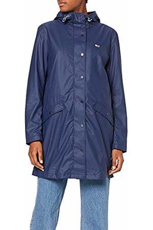 Tommy Hilfiger Women's TJW RAIN Jacket ( Iris 002)