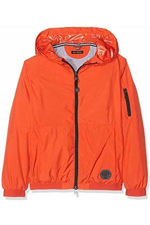 Marc O' Polo Boy's Windbreaker Mit Kapuze Waterproof Jacket, (Poppy
