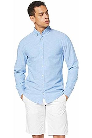 HUGO BOSS Men's's Mabsoot Casual Shirt, (Open 460)