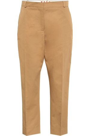 Marni Women Trousers - Cotton and linen twill pants