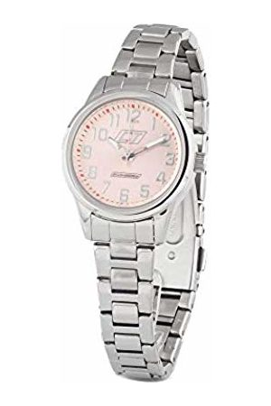 ChronoTech Womens Analogue Quartz Watch with Stainless Steel Strap CC7041L-07M