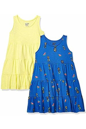 Spotted Zebra 2-Pack Knit Sleeveless Tiered Dresses Playwear