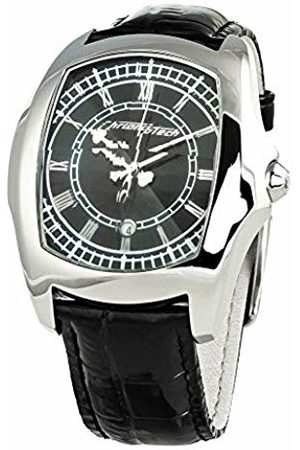 ChronoTech Mens Analogue Quartz Watch with Leather Strap CT7896M-92