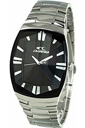 ChronoTech Mens Analogue Quartz Watch with Stainless Steel Strap CT7065M-02M