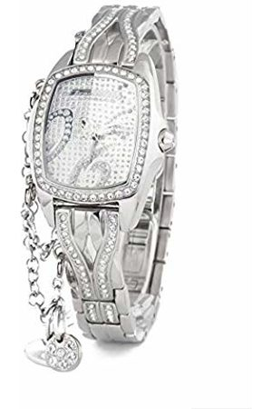 ChronoTech Womens Analogue Quartz Watch with Stainless Steel Strap CT7008LS-06M