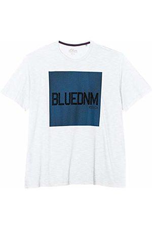 s.Oliver Men's 15.902.32.7068 T-Shirt, ( 0100)