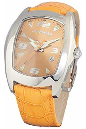 ChronoTech Mens Analogue Quartz Watch with Leather Strap CT7504-06