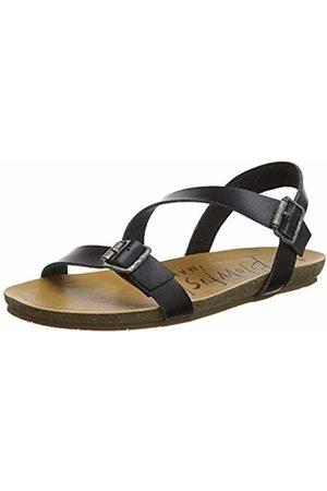 Blowfish Women's Gallup Open Toe Sandals, ( Dyecut 024)