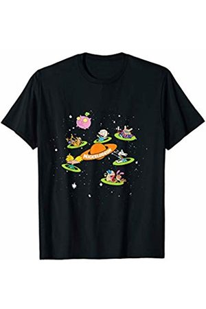 Nickelodeon Nick Characters In Space T-Shirt