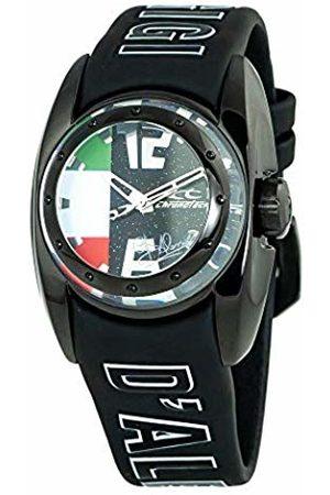 ChronoTech Unisex Adult Analogue Quartz Watch with Rubber Strap CT7704B-35