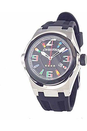 ChronoTech Mens Analogue Quartz Watch with Rubber Strap CT7036M-15