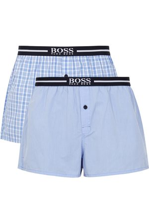 HUGO BOSS Cotton Boxer Shorts - Set Of Two