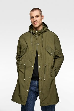 Zara Lightweight hooded parka
