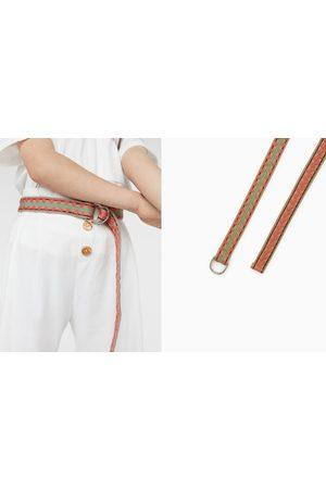 Zara Embroidered belt
