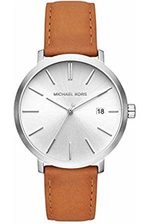 Michael Kors Mens Analogue Quartz Watch with Leather Strap MK8673