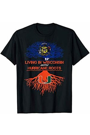 FanPrint Miami Hurricanes Living Roots T-Shirt - Apparel