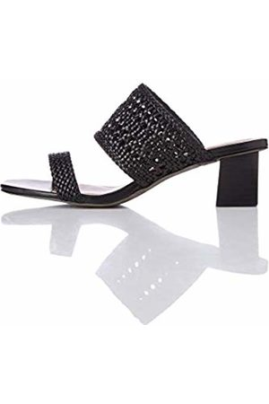 FIND Women Sandals - Two Band Woven Sandal Open Toe