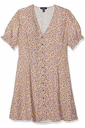 New Look Women's Ditsy Button Through Dress