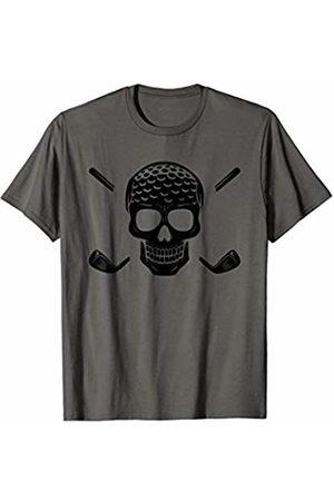 American Beard Skull Golf Mens Shirt American Beard Skull Golf Mens T-Shirt
