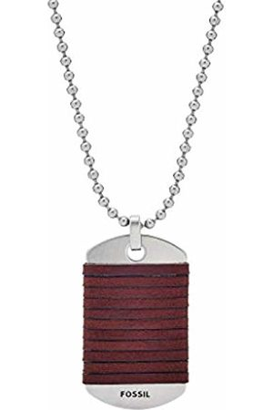 Fossil Men Stainless Steel Pendant Necklace JF03107040