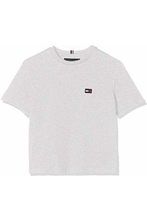 Tommy Hilfiger Boy's Essential Boxy Flag S/s T-Shirt, ( Heather 004)