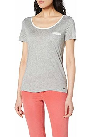 Mexx Women's T-Shirt, ( Melange/Marshmallow 300162)