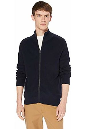 HUGO BOSS Men's Akarlott Cardigan, (Dark 404)