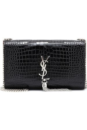 Saint Laurent Medium Kate Tassel embossed leather shoulder bag