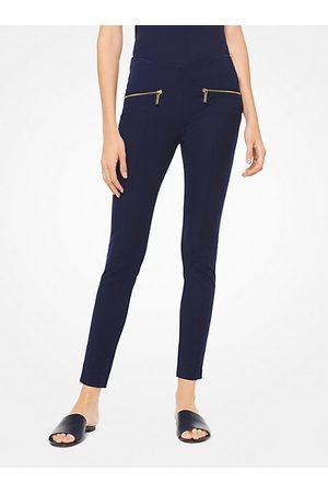 Michael Kors Women Trousers - Hutton Cotton-Blend Leggings