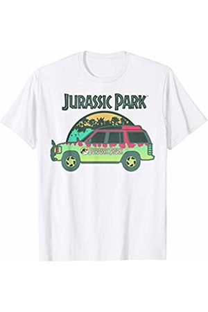 Jurassic Park Green Car Tour Ride Logo T-Shirt