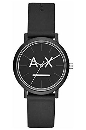 Armani Exchange Womens Analogue Quartz Watch with Silicone Strap AX5556